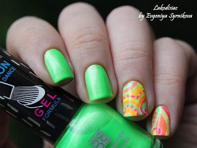 Brigitte Bottier Neon Gel Formula 251