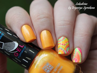 Brigitte Bottier Neon Gel Formula 253