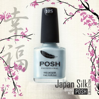 Posh Professional Japan Silk (Японский шелк) 10S Шелк Небо Токио