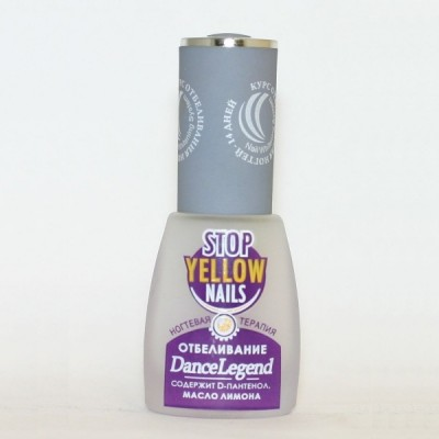 Dance Legend Stop Yellow Nails